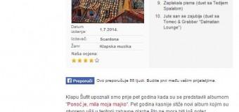 "Perjanice nove zabavne glazbe – Recenzija albuma ""Ne diraj moju ljubav"" Muzika.hr"